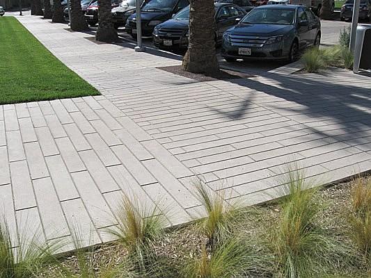 Large Scale Calarc Pavers Concrete Pavers