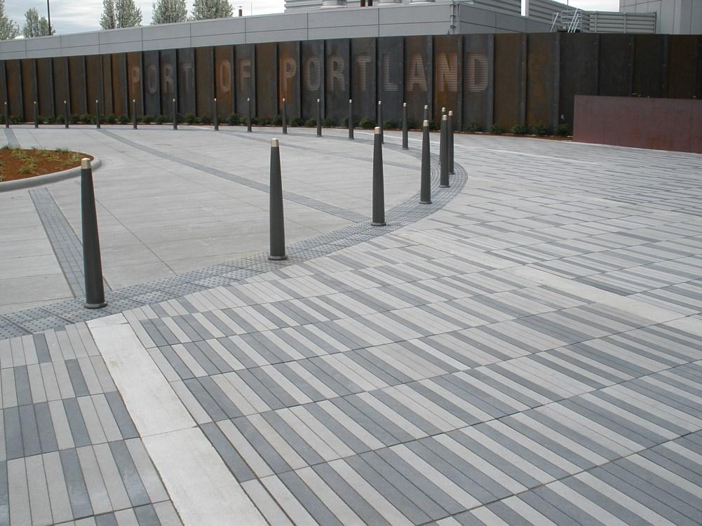 Narrow Modular Pavers Concrete Pavers