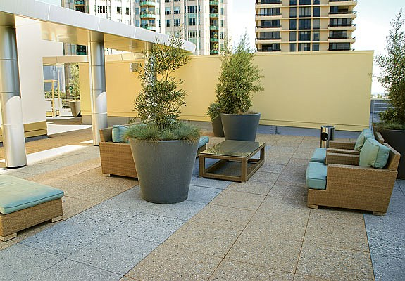 Drydeck Roof Pavers Concrete Roof Pavers