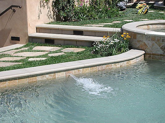 Precast Wall Coping : Classic pool coping concrete cooping