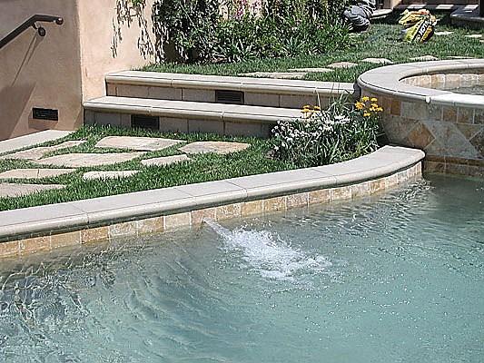Precast Concrete Pavers : Stepstone inc residential precast concrete wall cap