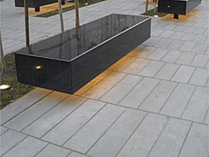 Large Scale Narrow Modular Pavers