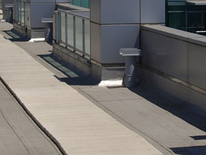 Precast Concrete Roof Pavers